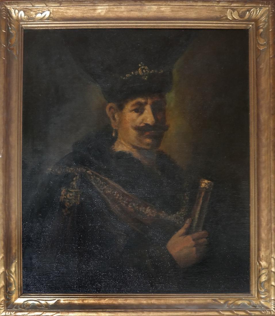 Portrait of a Russian Cossack - 2
