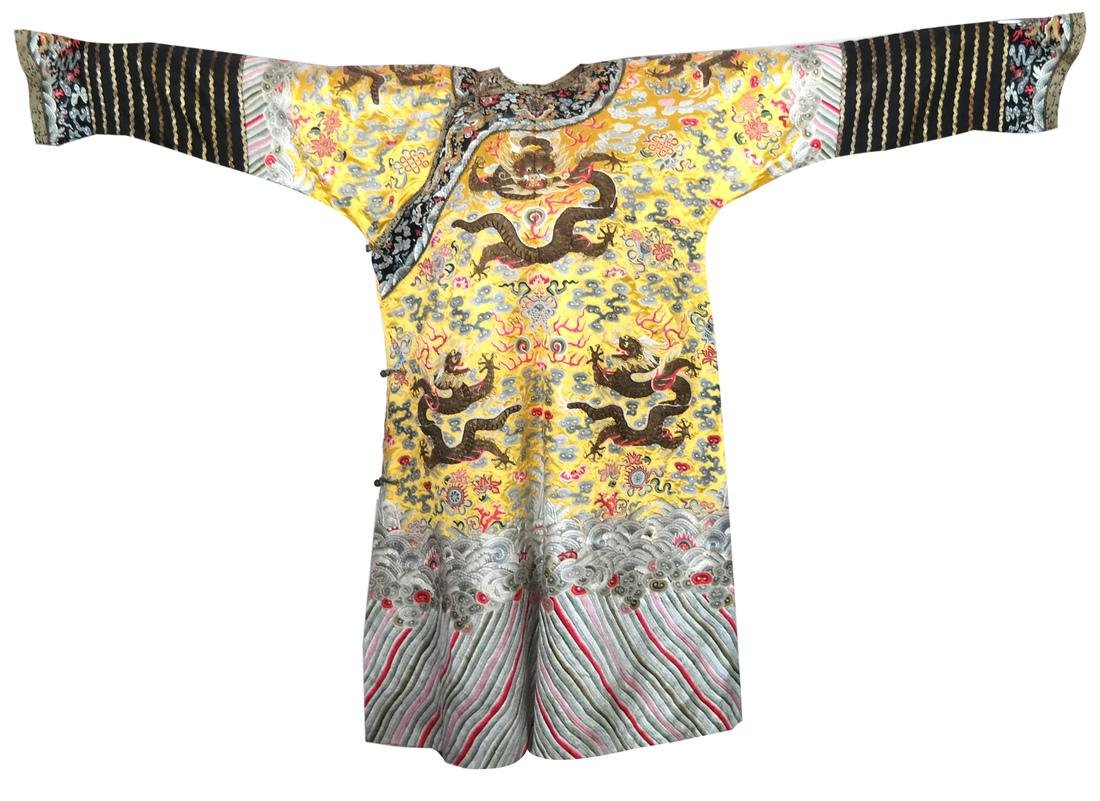 Chinese Qing Dynasty Empress Robe
