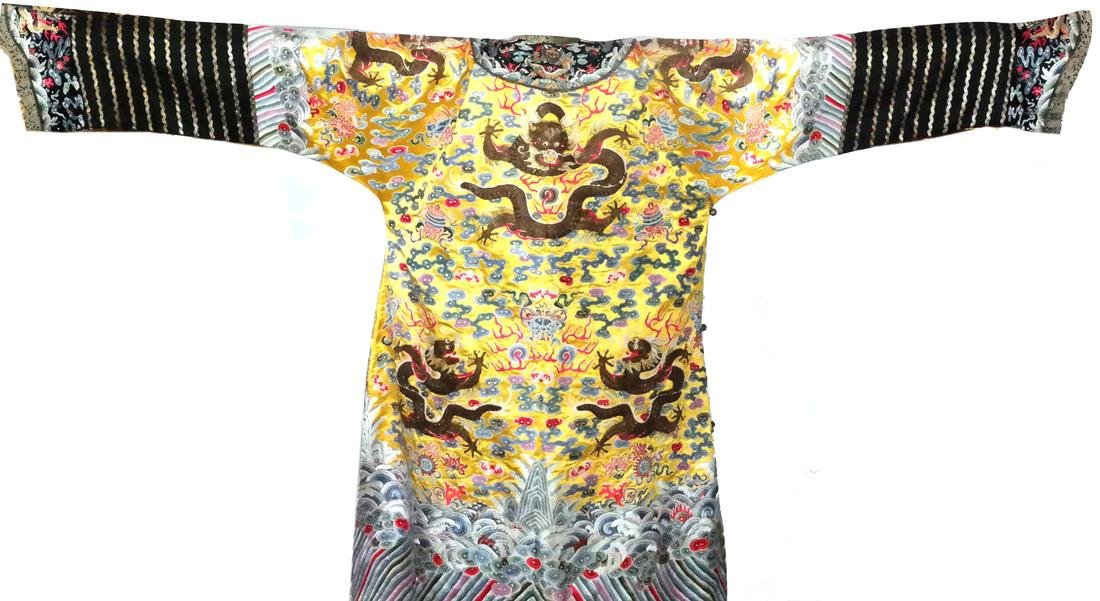 Chinese Qing Dynasty Empress Robe - 5