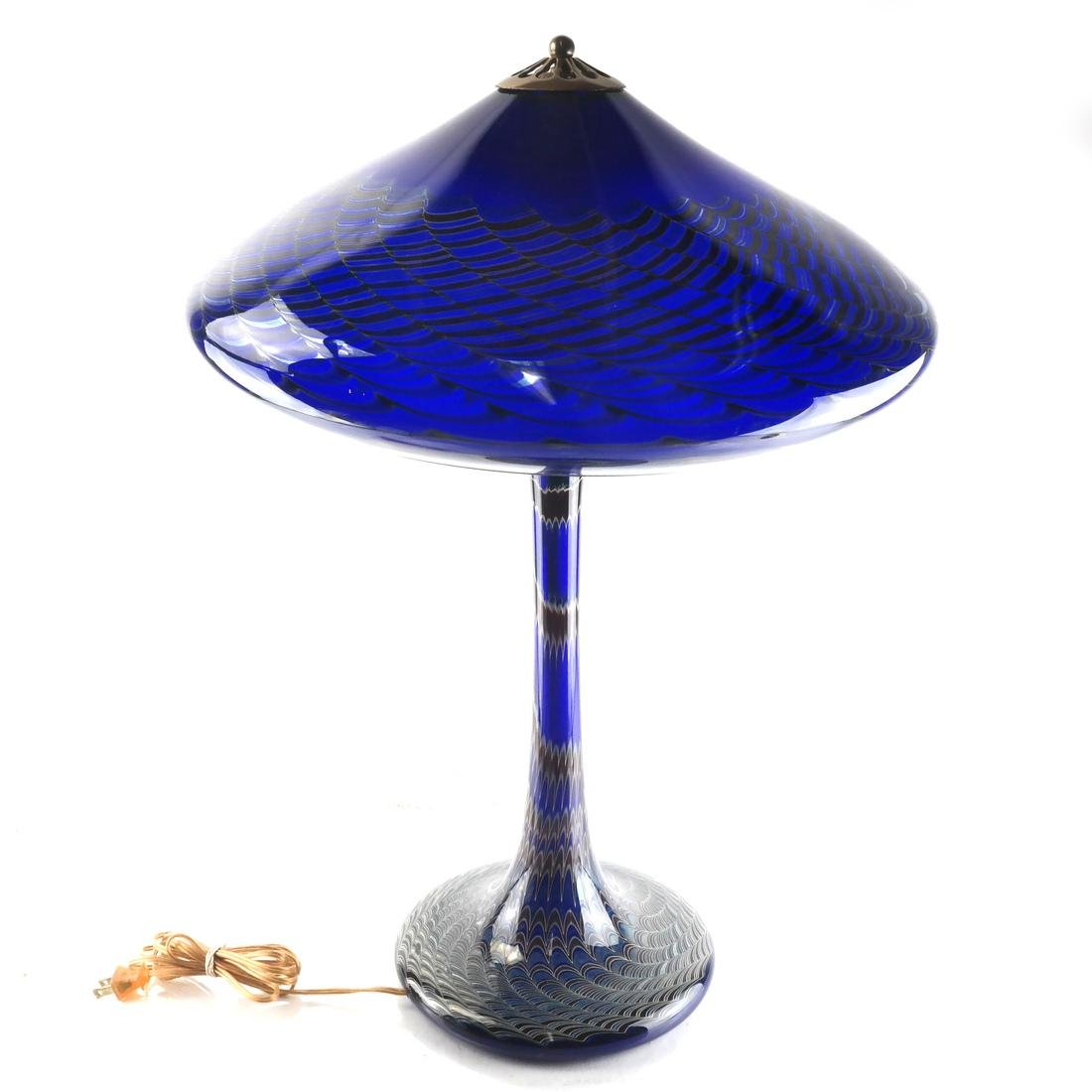 Joe Clearman Blown Glass Table Lamp