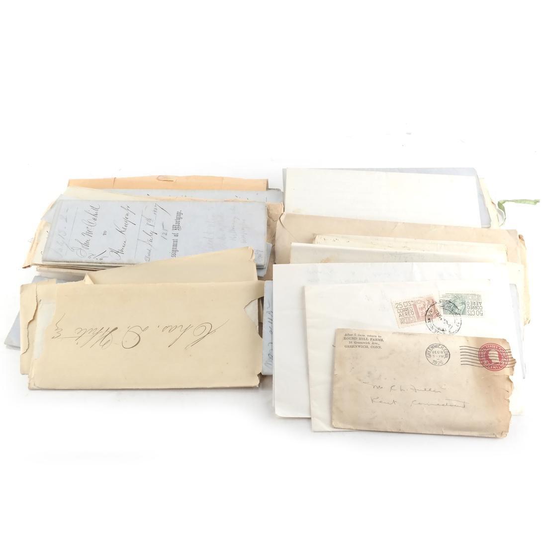 Ephemera: Correspondence of Charles D. White