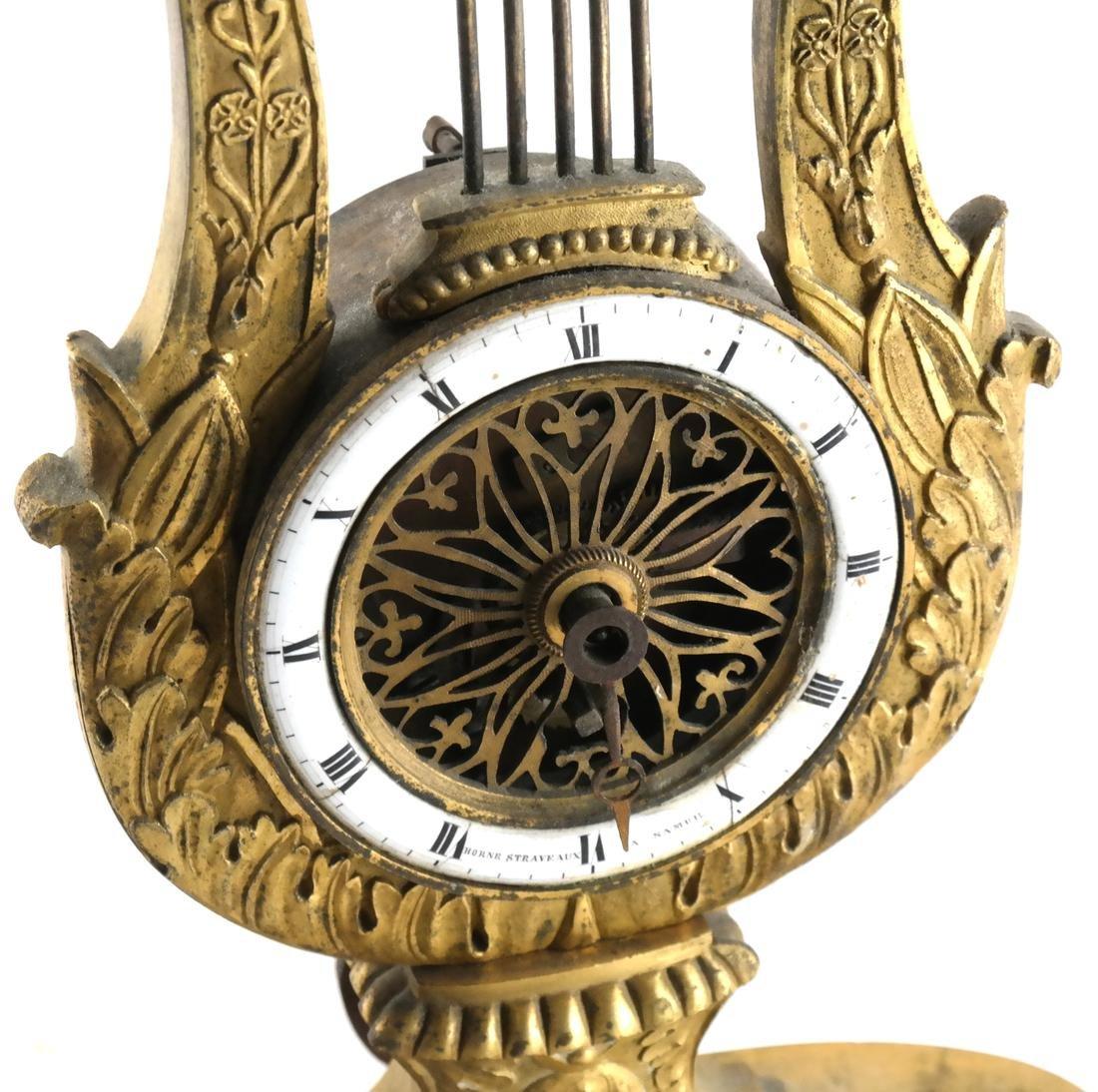 Swiss Horne Straveaux Nemurs Clock - 2