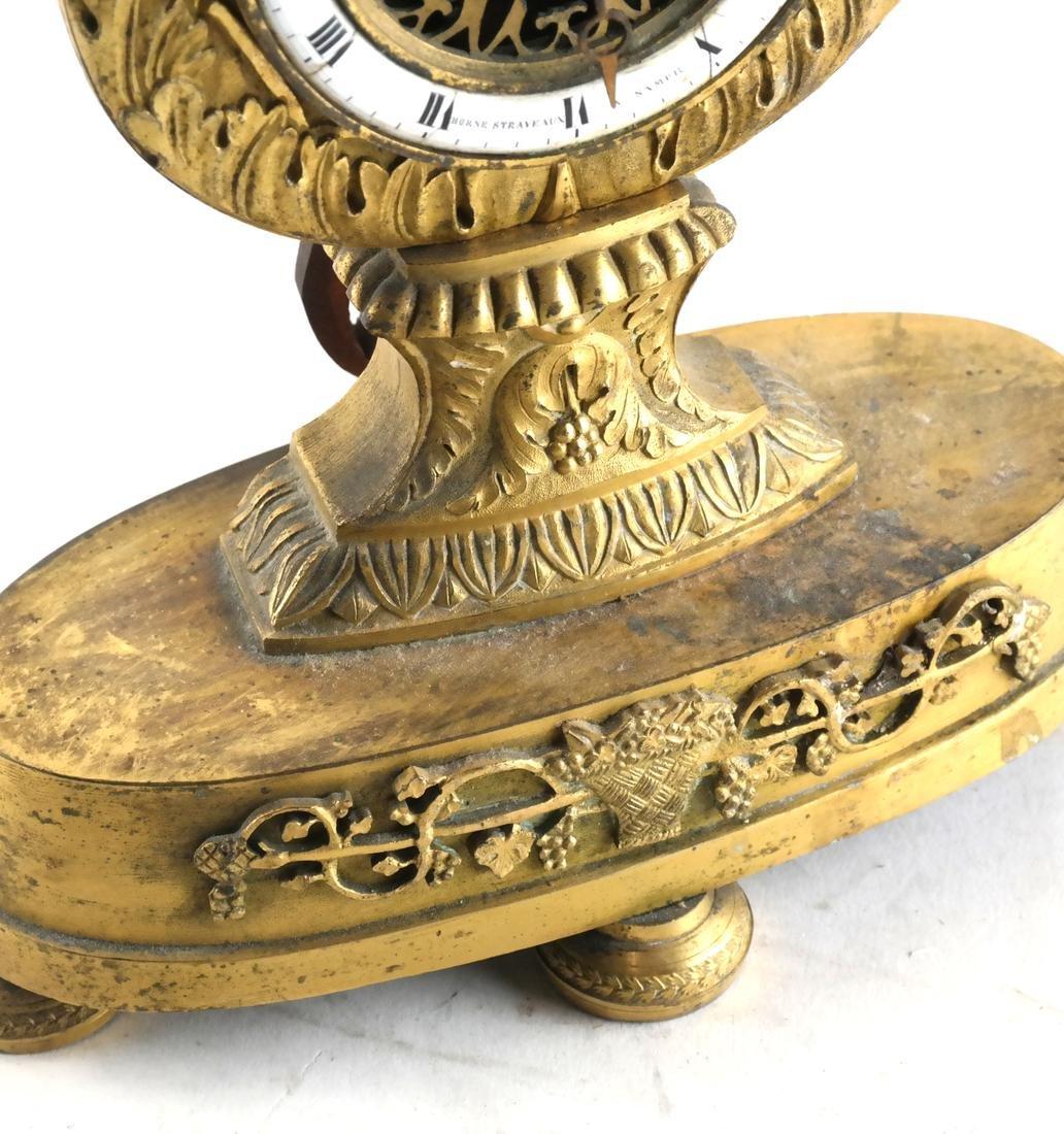 Swiss Horne Straveaux Nemurs Clock - 4