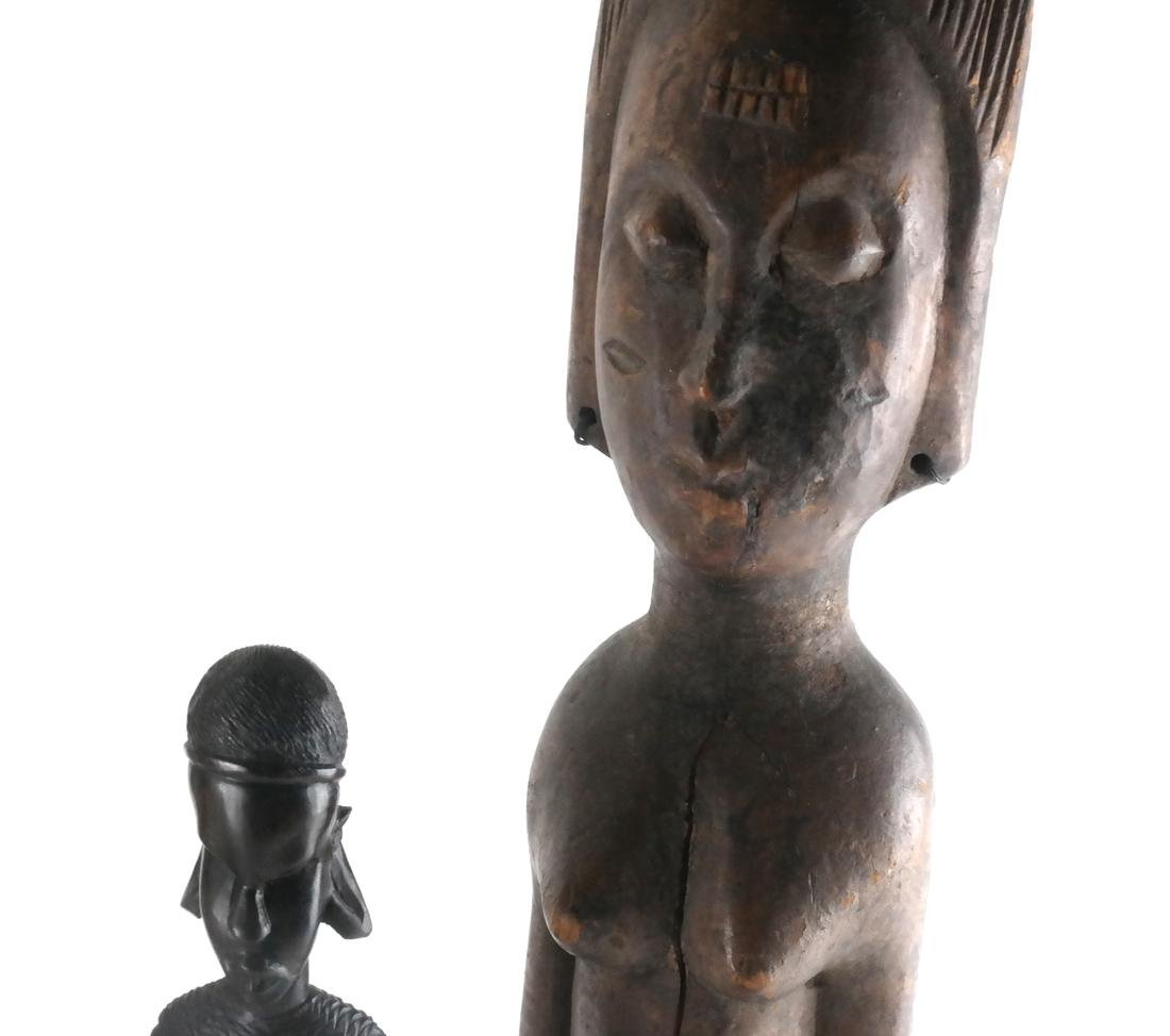 Five Ethnic Tribal Sculptures - 3