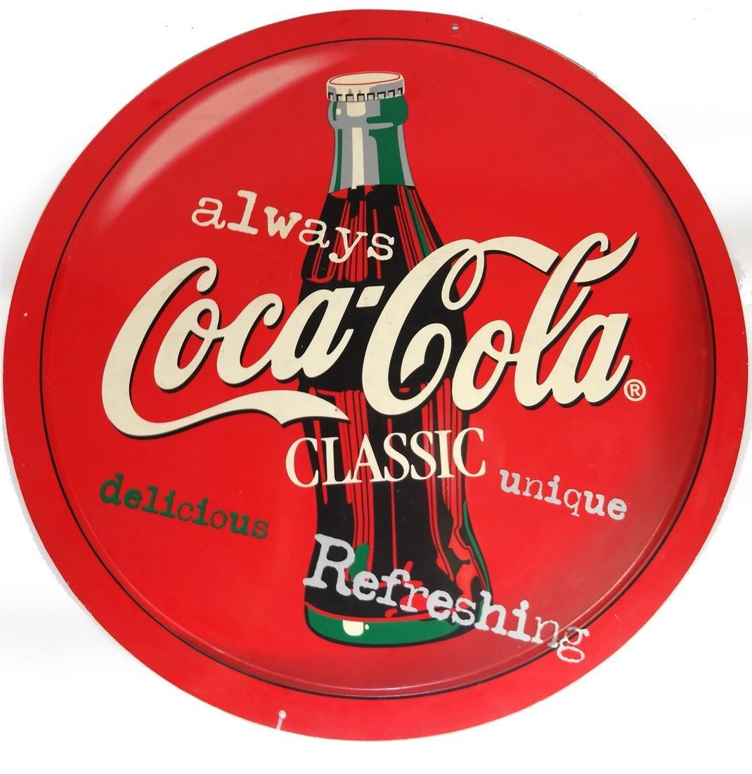Coca-Cola Vinyl Style Sign