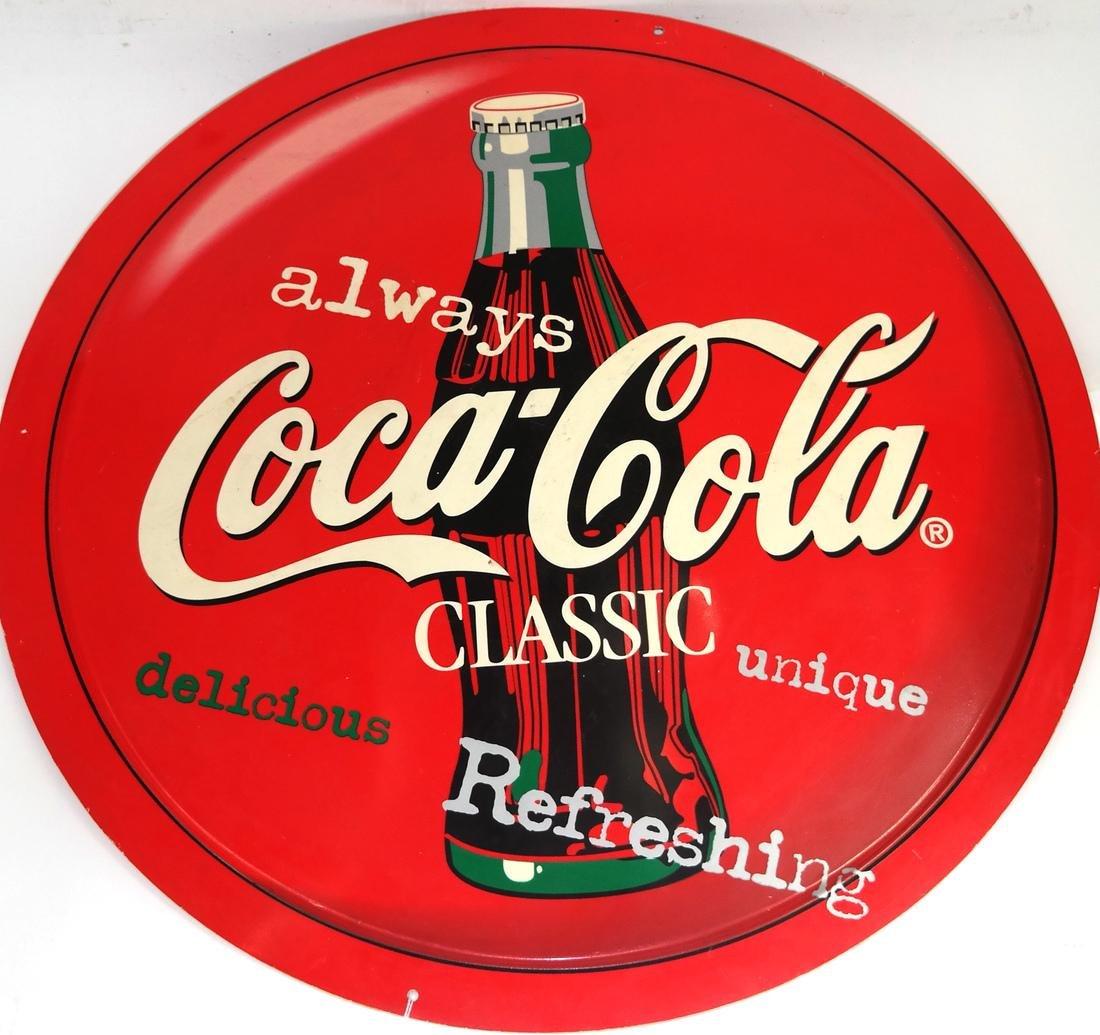 Coca-Cola Vinyl Style Sign - 2