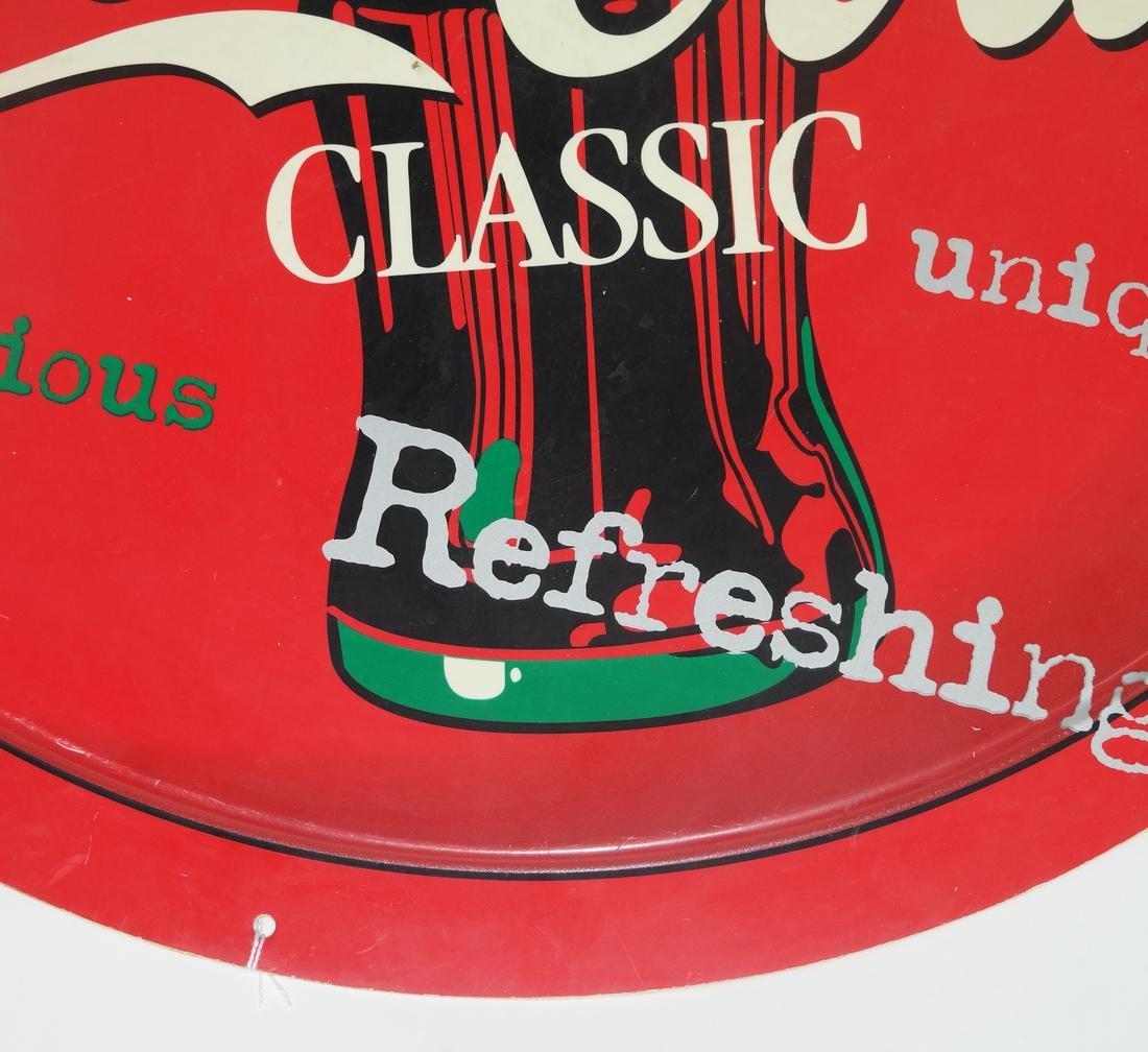 Coca-Cola Vinyl Style Sign - 3