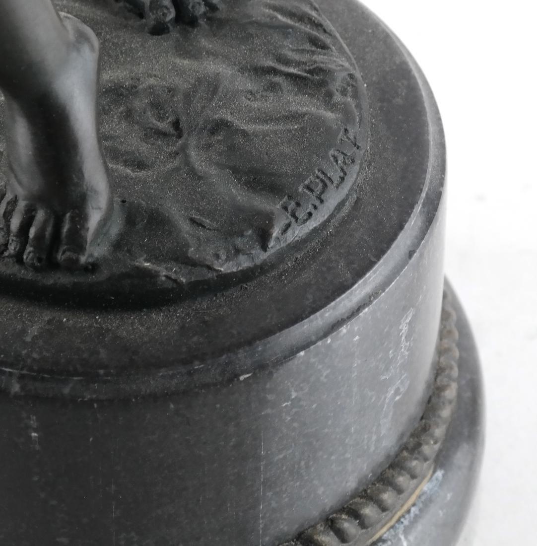 E. Plat - Metal Sculpture of a Child - 3