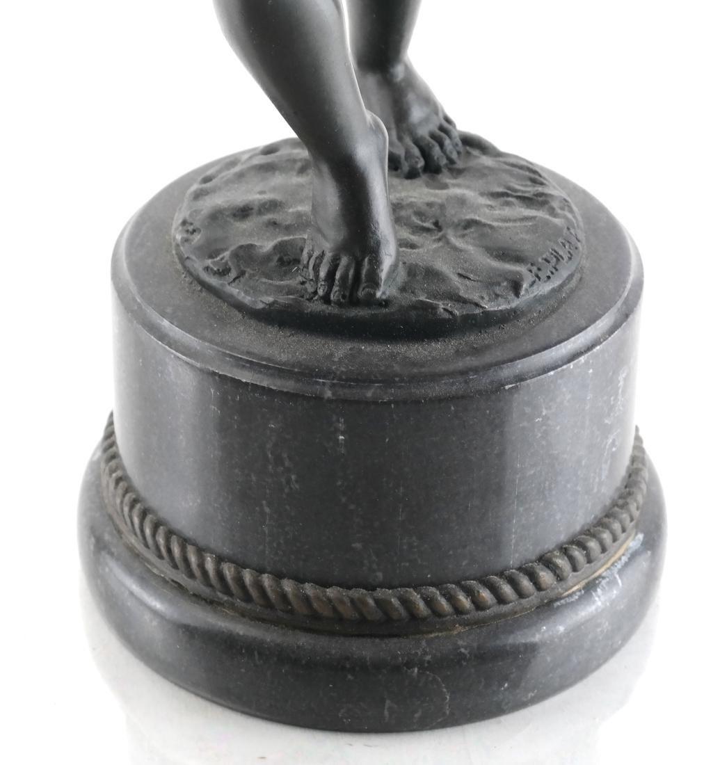 E. Plat - Metal Sculpture of a Child - 4