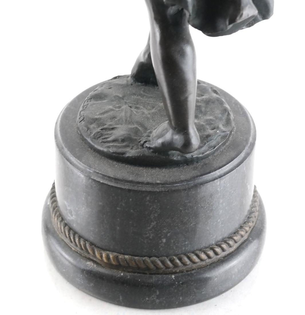 E. Plat - Metal Sculpture of a Child - 6