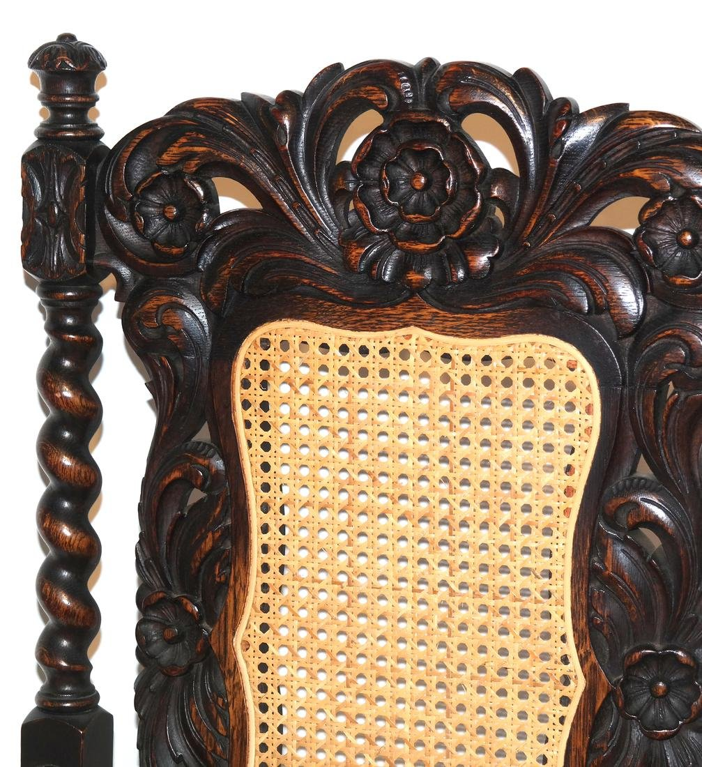 English Charles II-Style Armchair - 2