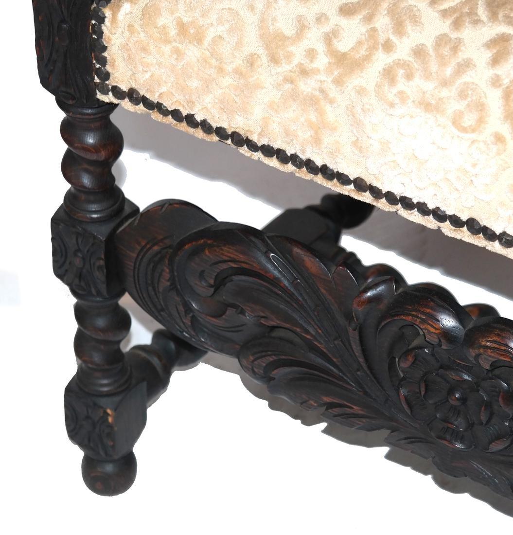 English Charles II-Style Armchair - 5