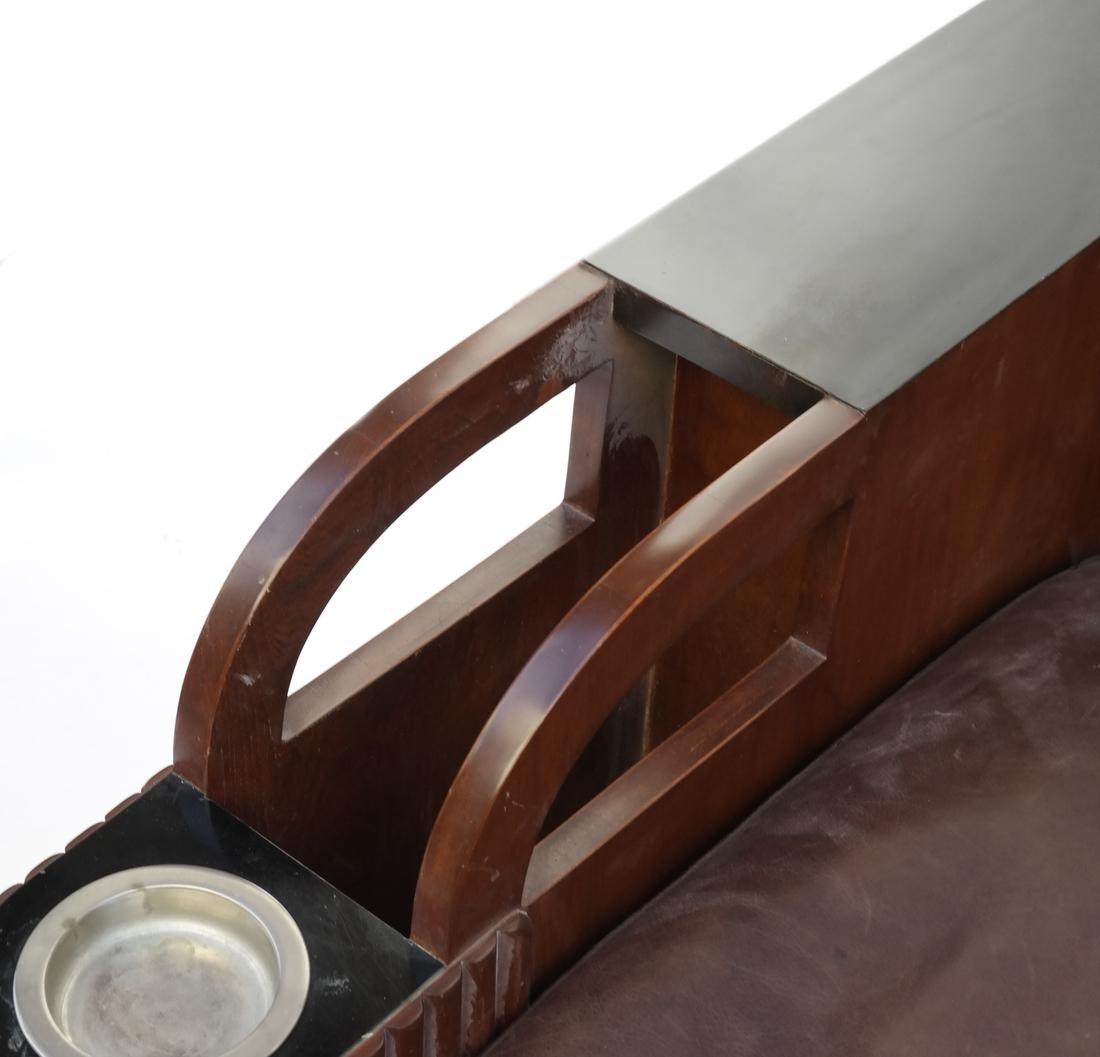 Art Deco Settee - 4