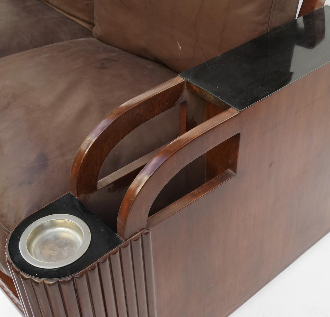Art Deco Settee - 6