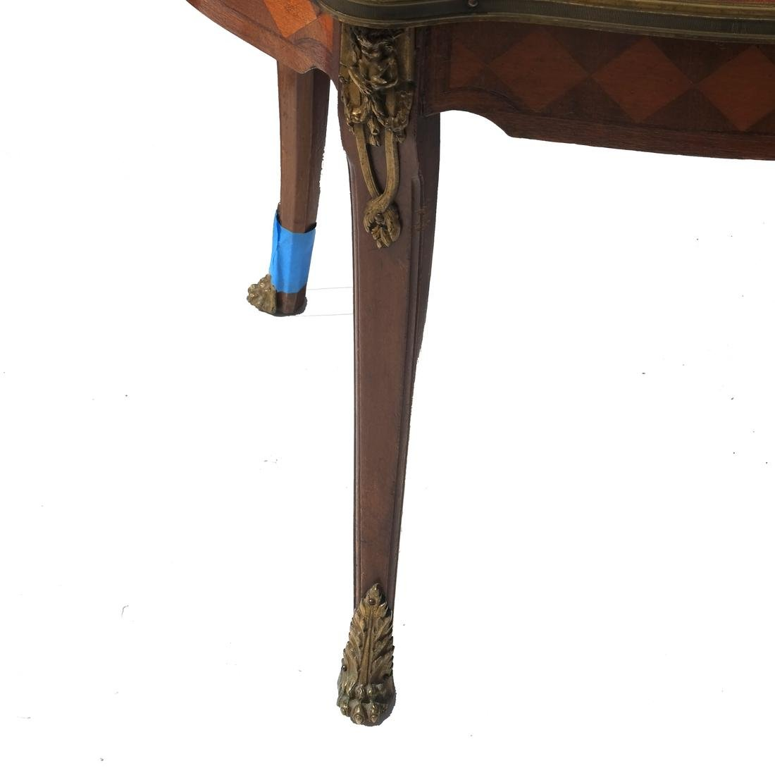 19th C. Inlaid French Coffee/Cocktail Table - 5