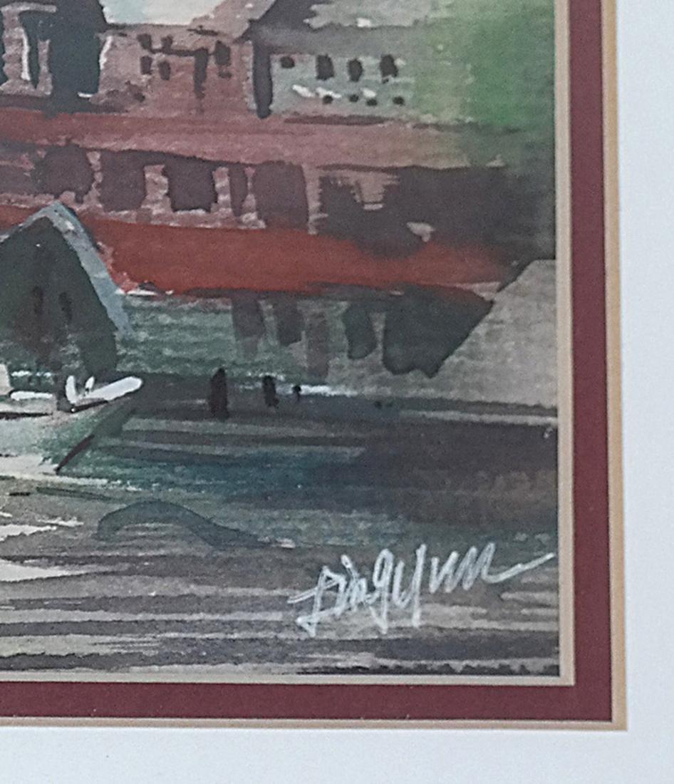 "Ling Yun ""Autumn"" Watercolor - 3"
