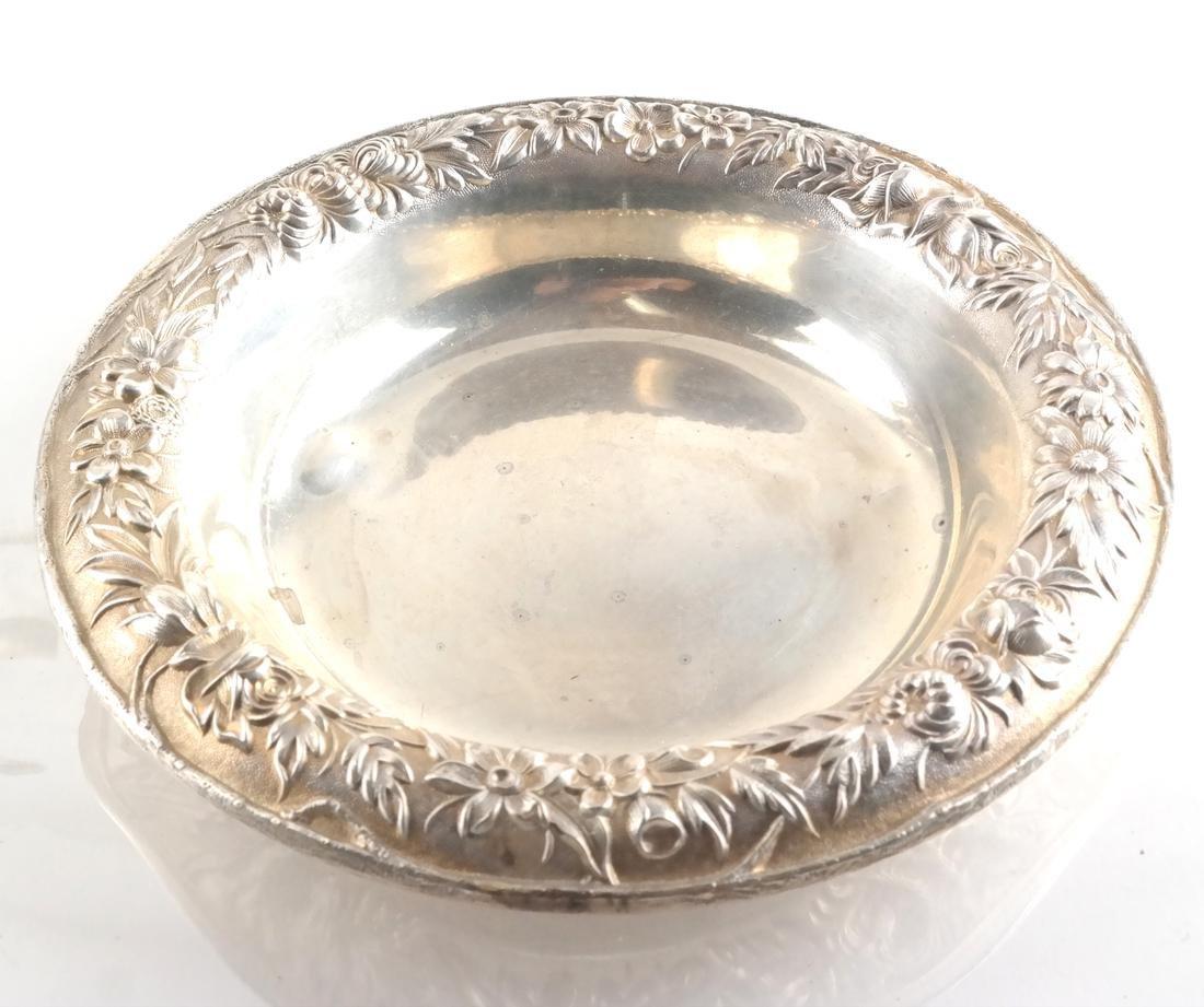 S. Kirk .925 Silver Coffee Pot & Bowl - 2