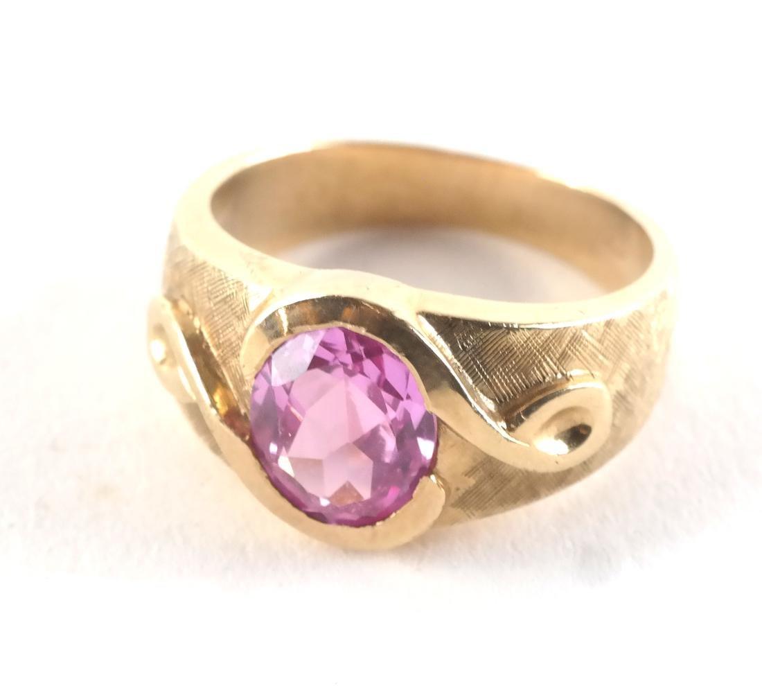 Vintage 14k Man's Dress Ring