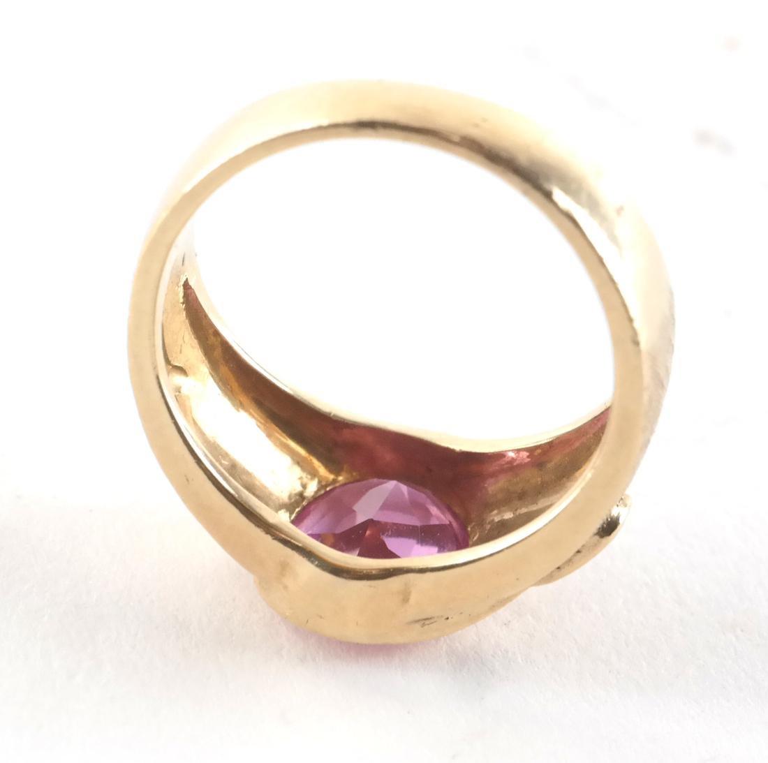 Vintage 14k Man's Dress Ring - 3
