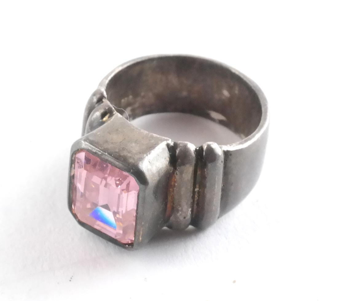 Sterling Silver Ring and Pin - 2