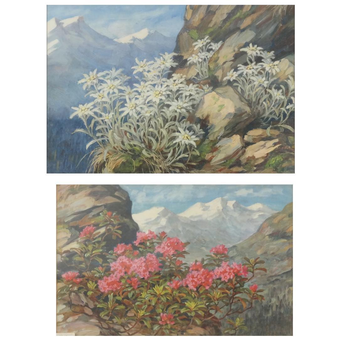 Two Anna Haller Works