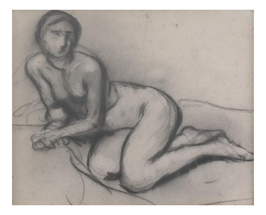 Antonin-Marie Moine, Female Nude