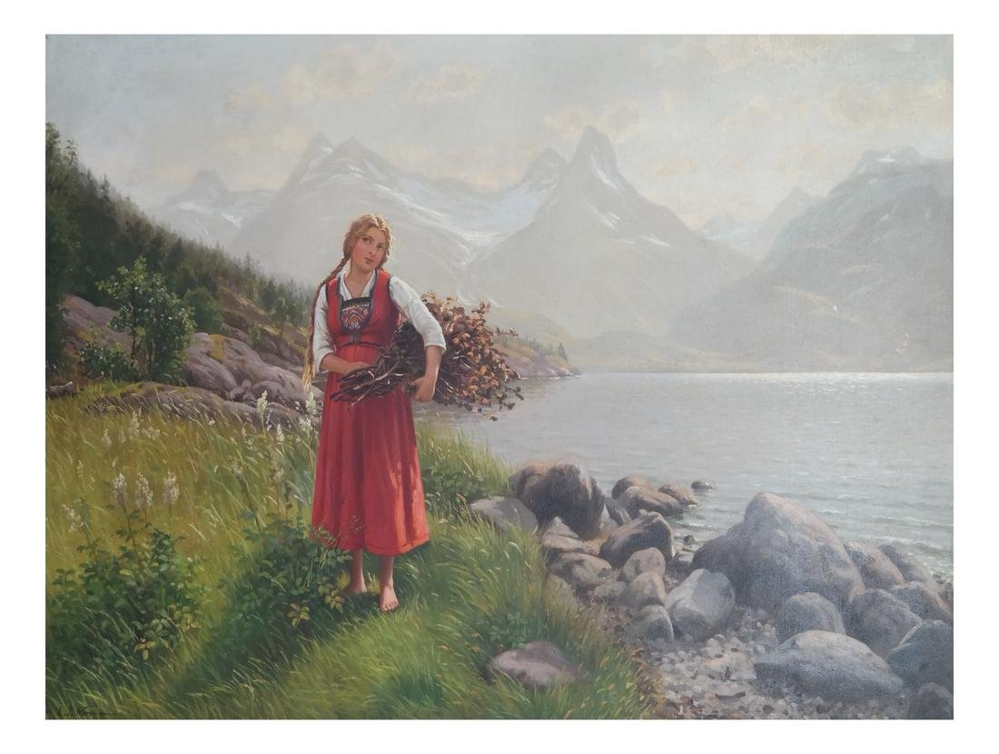 Emma Normann - Girl In A Valley - O/C