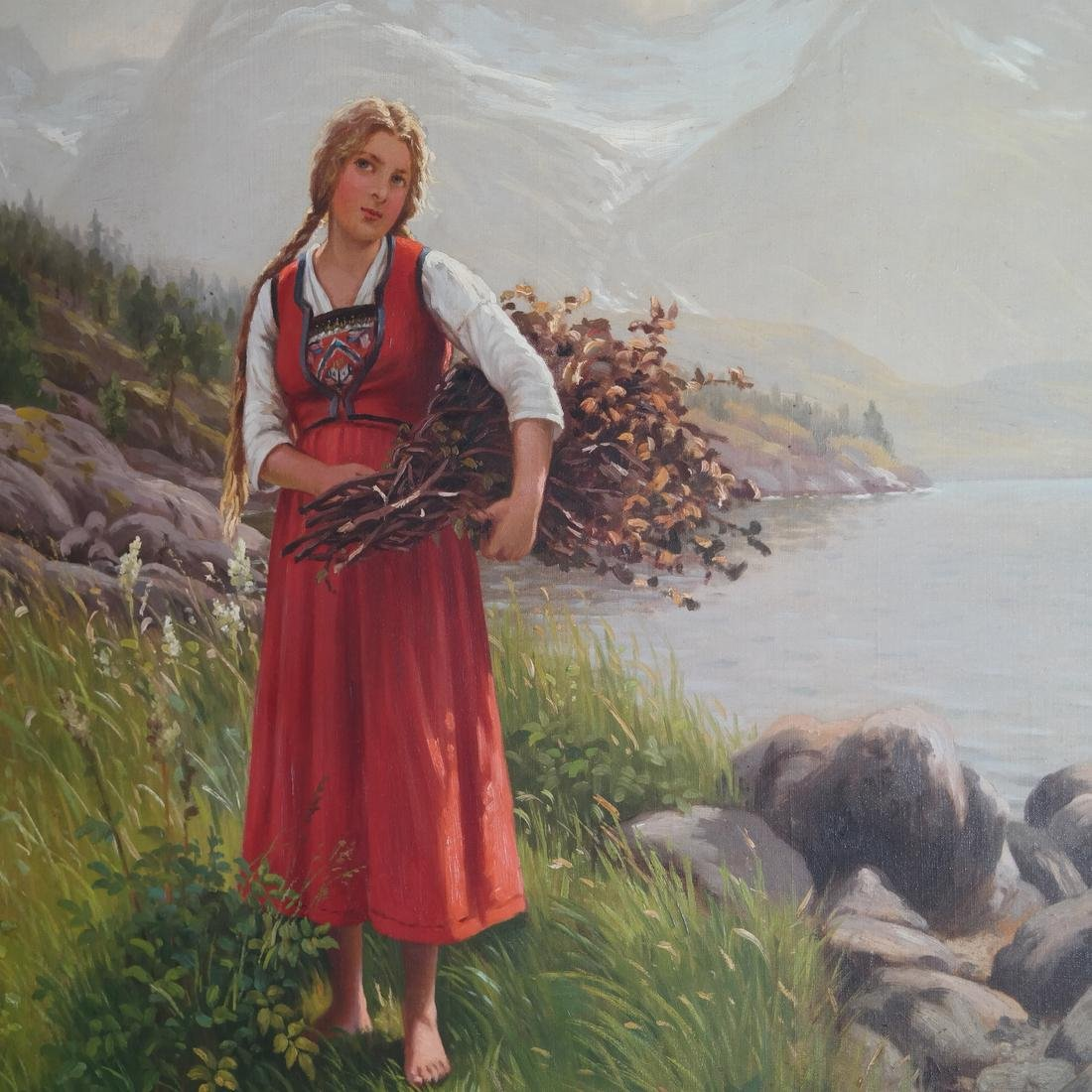 Emma Normann - Girl In A Valley - O/C - 3