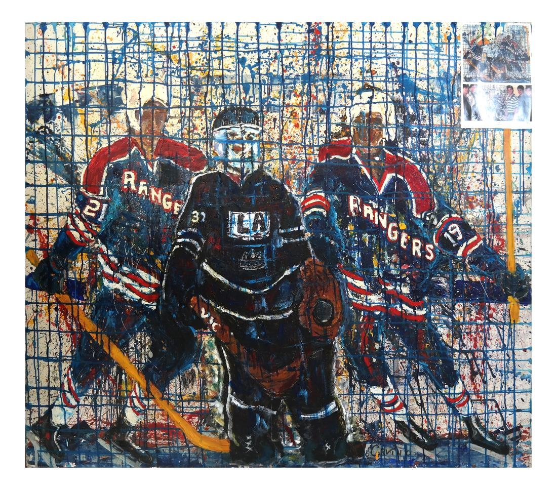 "Palo Curvino ""Rangers"" O/C, 48/54"