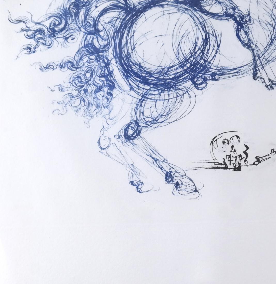 "Salvador Dali, ""Combat des Caveliers"" - Etching - 5"