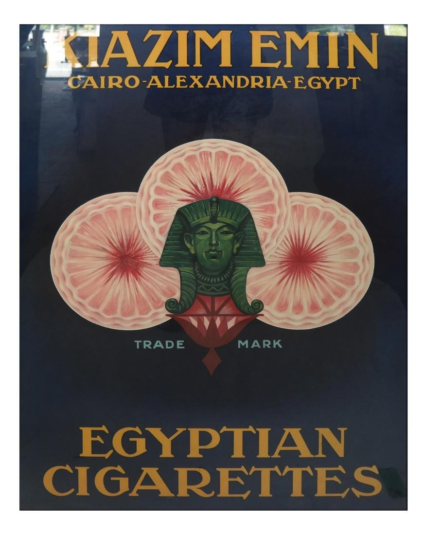 Egyptian Cigarette Poster