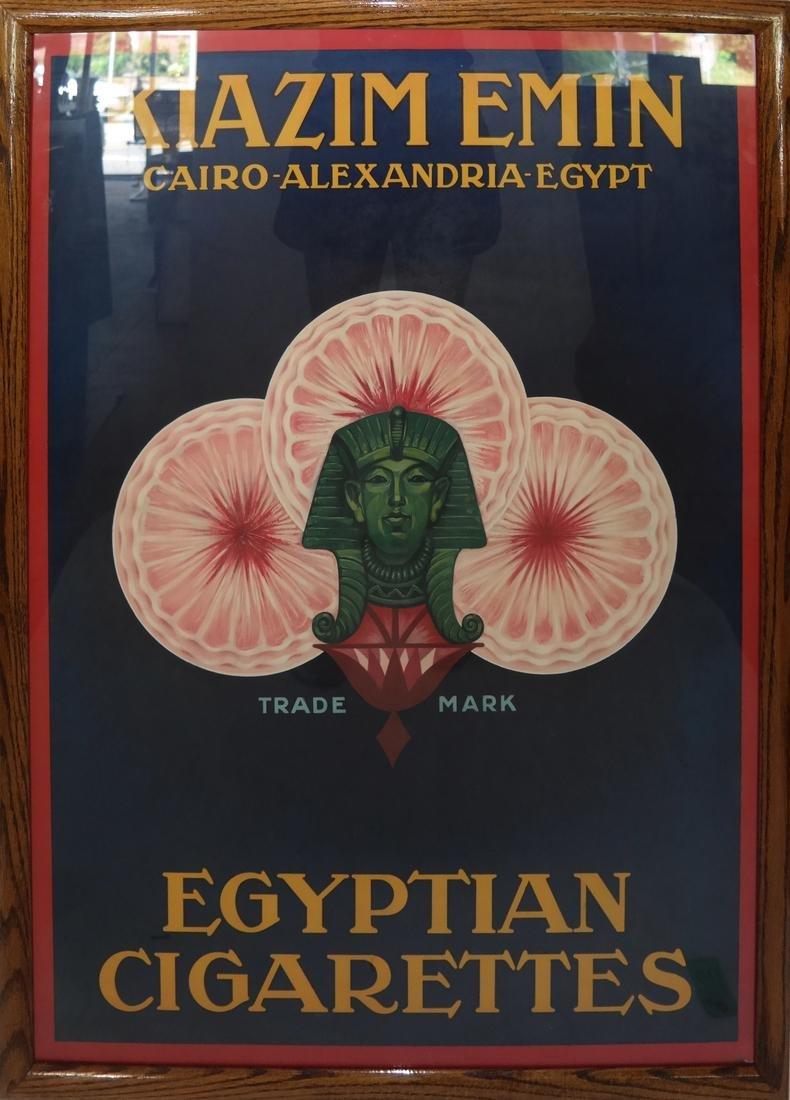 Egyptian Cigarette Poster - 2