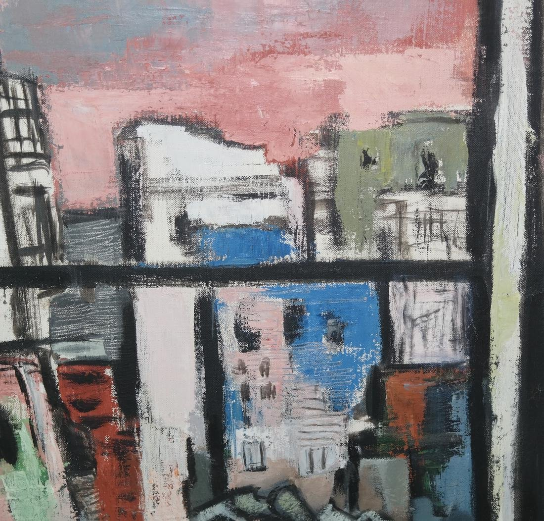 Norman Barr Modernist Painting - 5