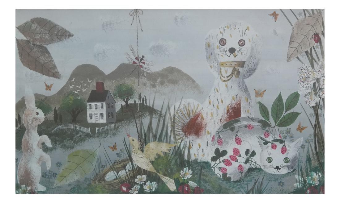 Frances Dearden, Whimsical Watercolor