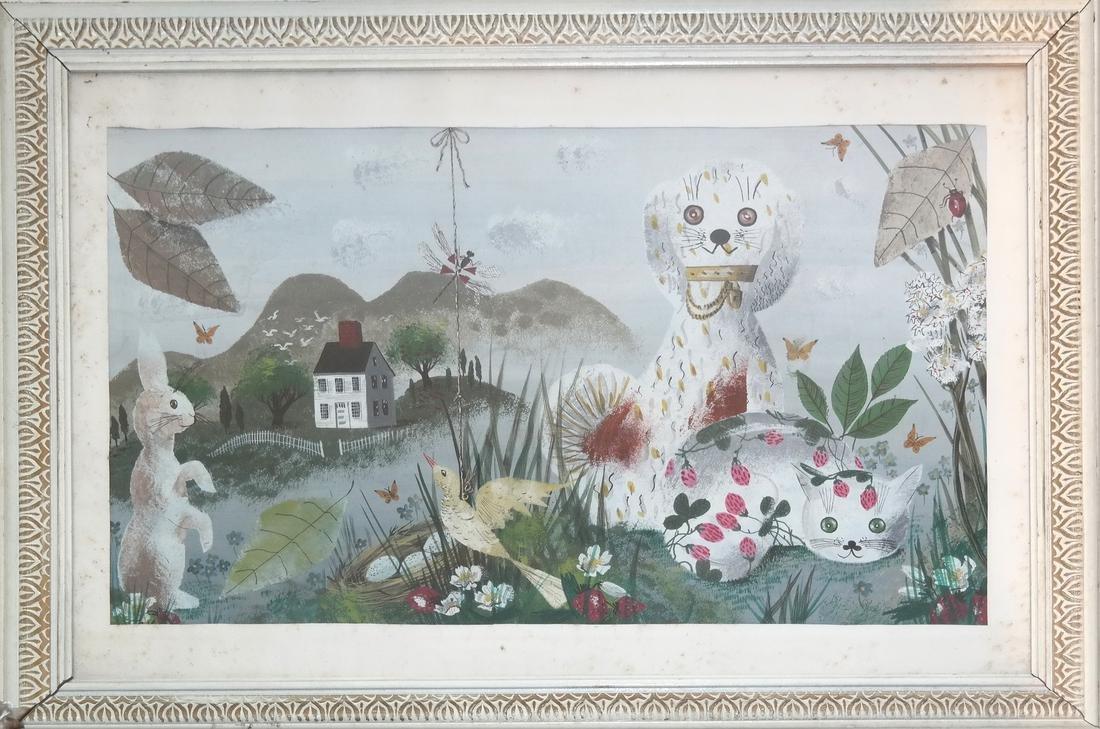 Frances Dearden, Whimsical Watercolor - 2