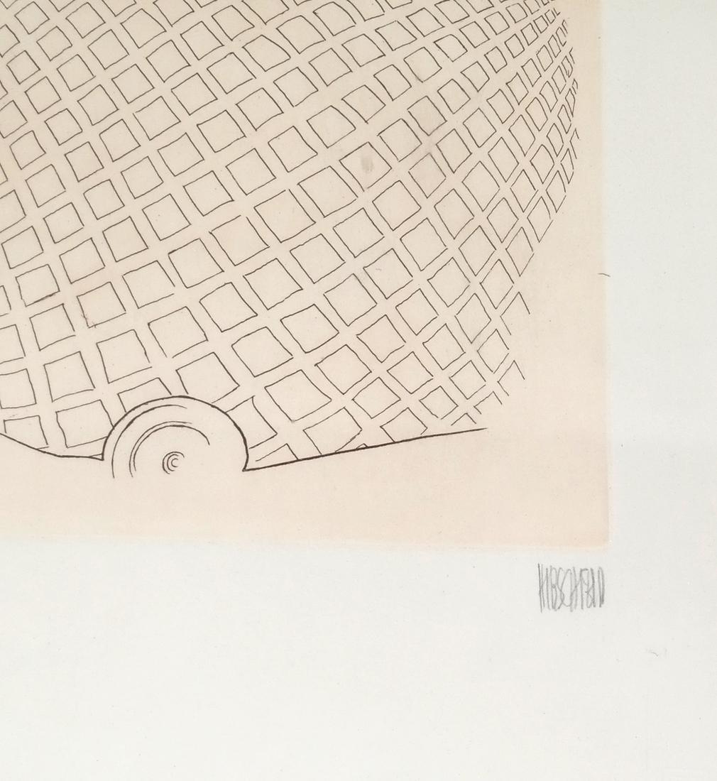 "Albert Hirschfeld Print ""Pavarotti"" - 3"