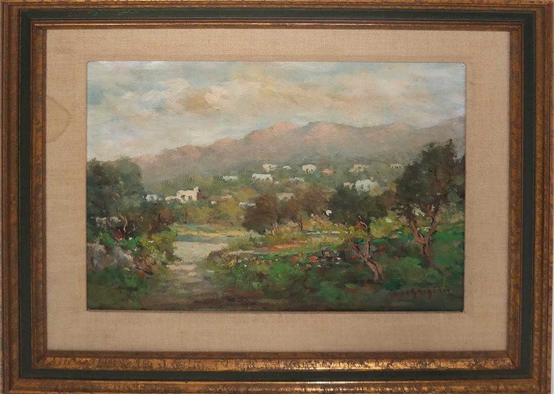 Israeli Oil Painting of Israel Mountains - 2