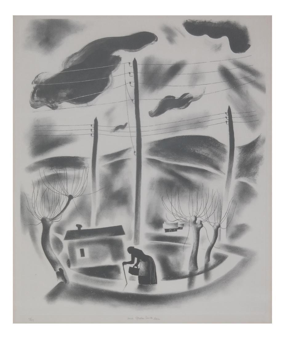 Jacob Getlar Smith, Etching Print