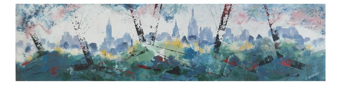 Pierre Chasson - NY Cityscape Painting