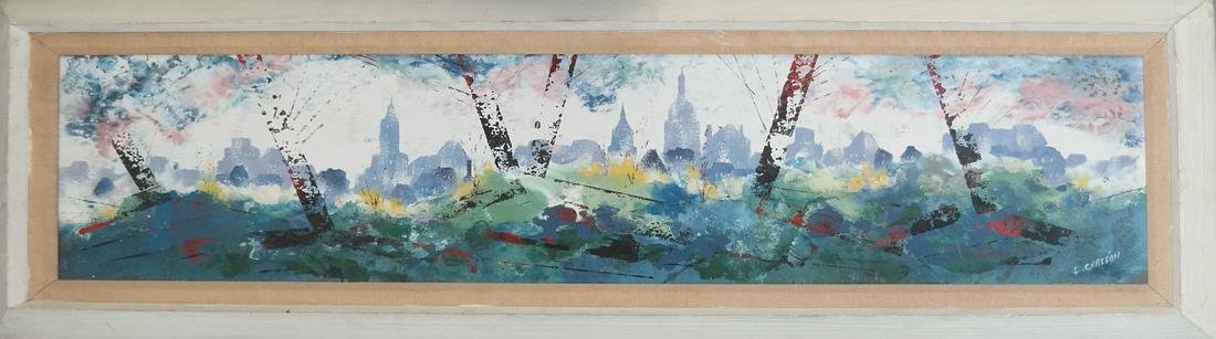 Pierre Chasson - NY Cityscape Painting - 2