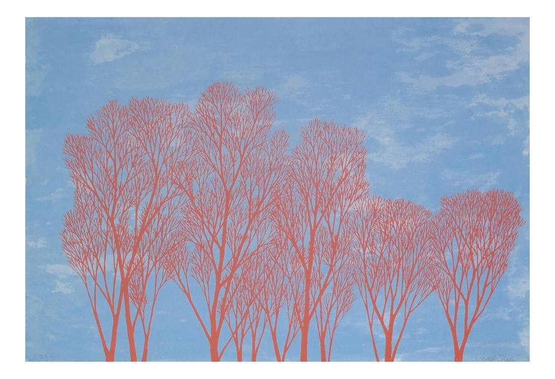 Judy Shahn - Trees Print