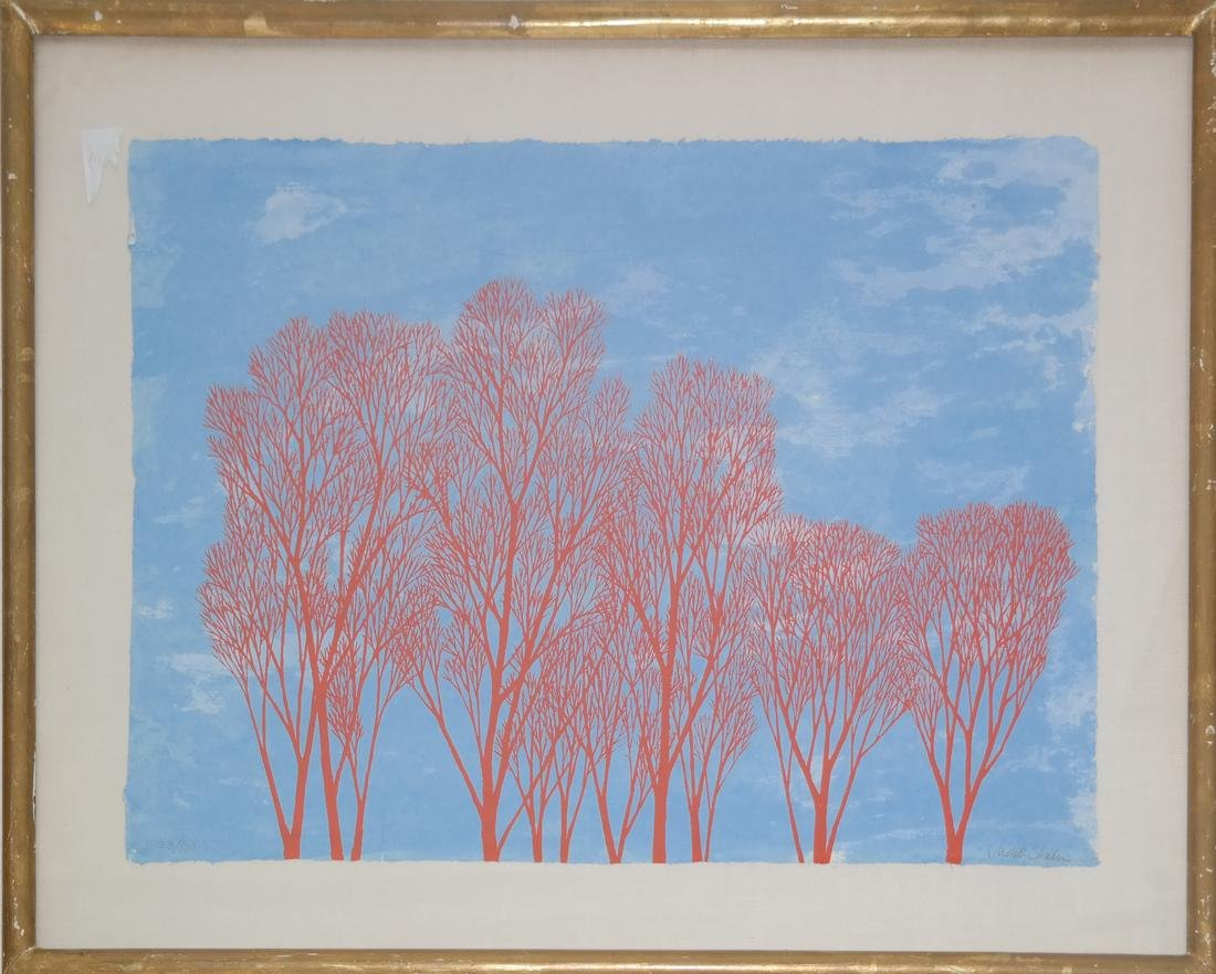 Judy Shahn - Trees Print - 2
