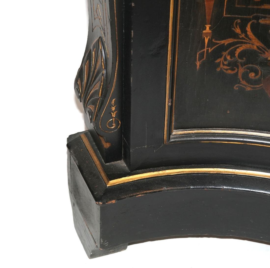 Victorian Ebonized Inlaid Credenza - 6