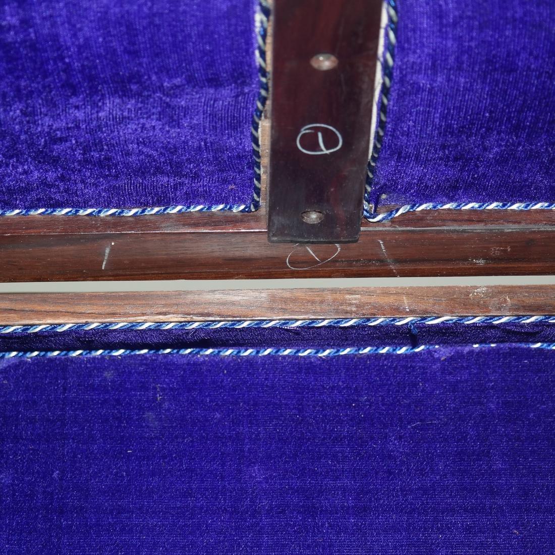Antique Indian Exotic Wood Inlaid Chest/Cassone - 6