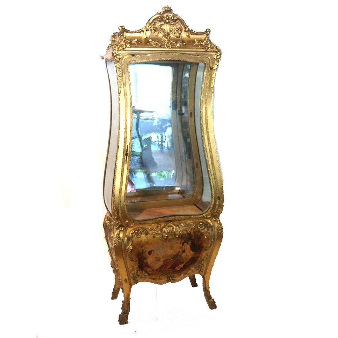 Vernis Martin-Type Curio Cabinet