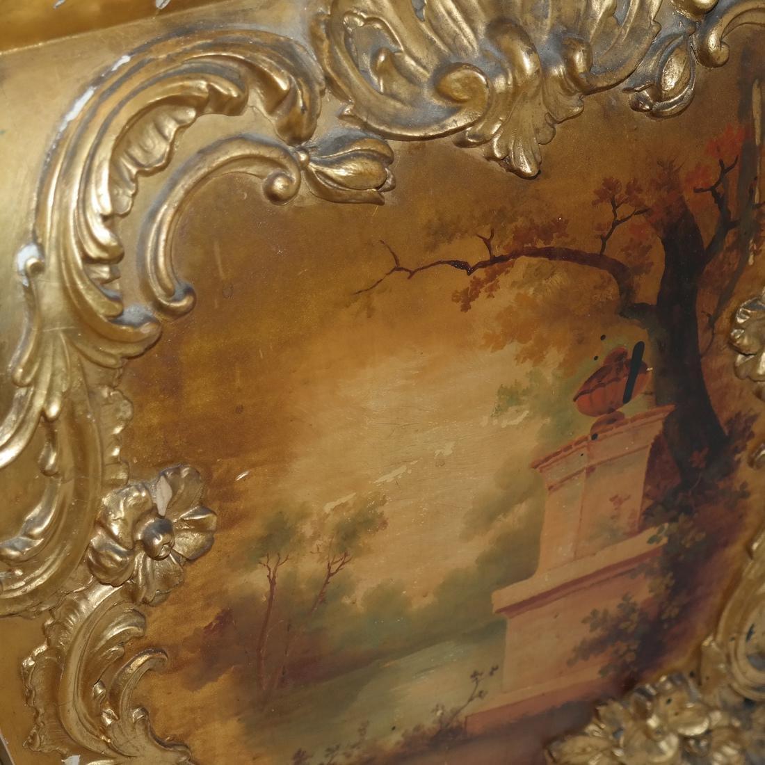 Vernis Martin-Style Curio Cabinet/Vitrine - 4