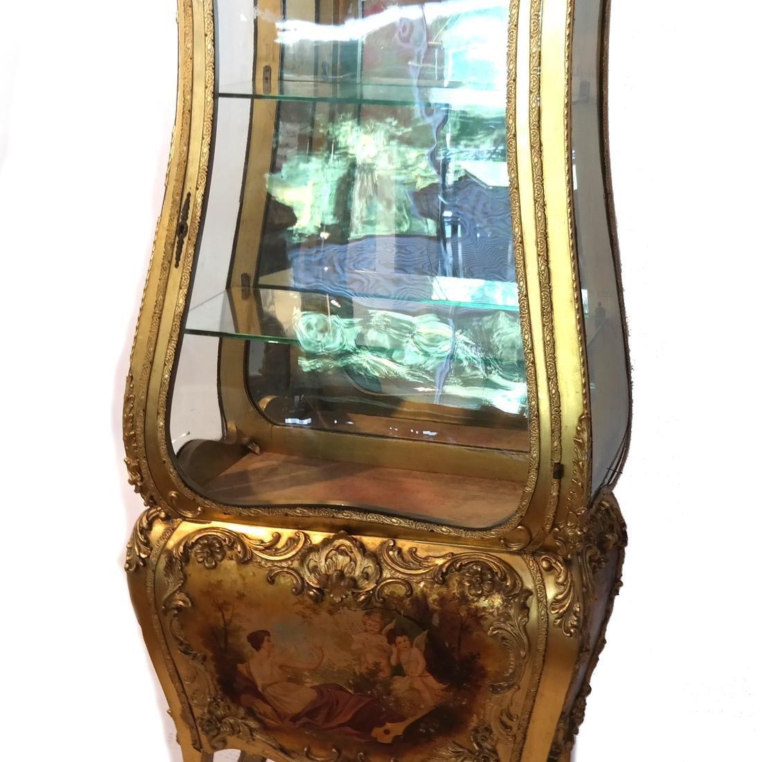 Vernis Martin-Style Curio Cabinet/Vitrine - 6