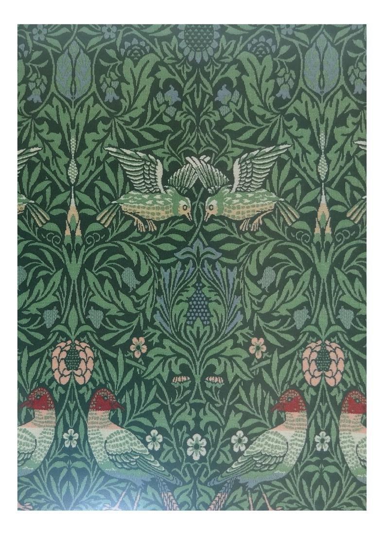 "Scalamandre Jacquard ""Bird"" Tapestry"