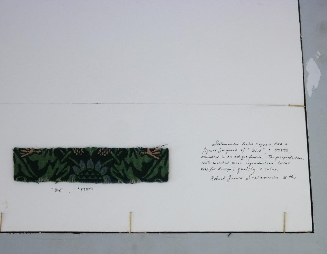 "Scalamandre Jacquard ""Bird"" Tapestry - 5"