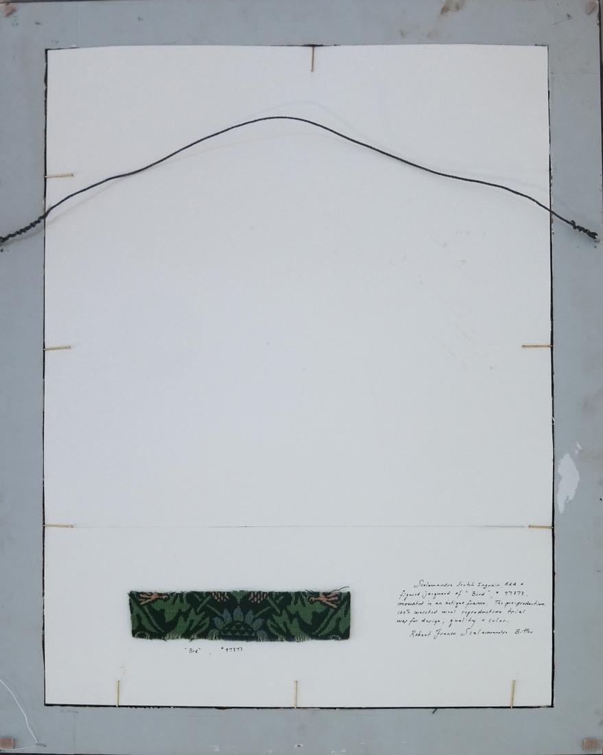 "Scalamandre Jacquard ""Bird"" Tapestry - 6"